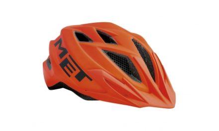 Met Crackerjack – Junior cykelhjelm – Orange – Str. 52-57 cm