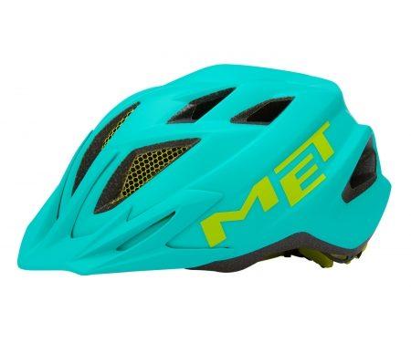 Met Crackerjack – Junior cykelhjelm – Smaragdgrøn – Str. 52-57 cm