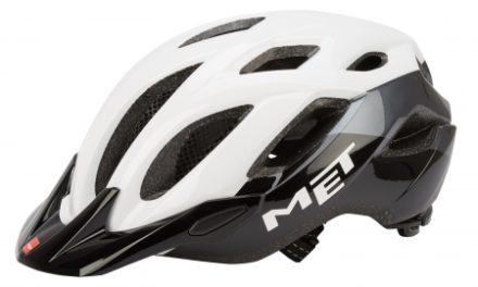 MET Crossover – Cykelhjelm – Hvid/sort