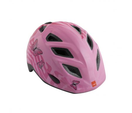 Met Elfo/Genio – Cykelhjelm – Pink Sommerfugle