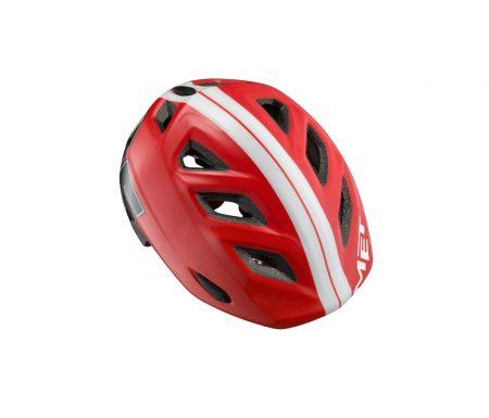 MET Elfo/Genio – Cykelhjelm – Rød 85