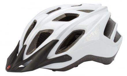 MET FunAndGo cykelhjelm – Hvid/sølv – Str. 54-61 cm