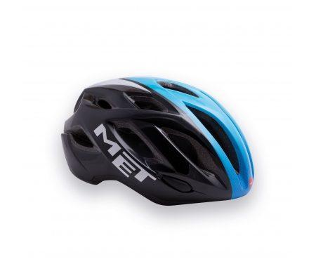 MET Idolo – Cykelhjelm – Sort/Blå/Hvid