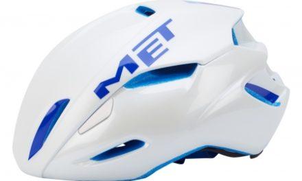MET Manta cykelhjelm – Hvid/blå