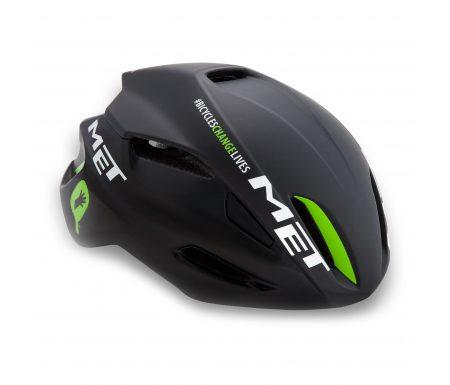MET Manta TDD cykelhjelm – Sort/grøn