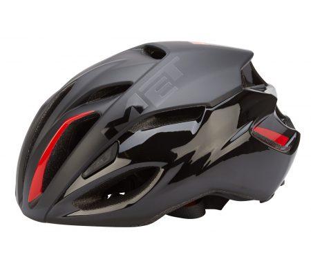 MET Rivale cykelhjelm – Sort/rød