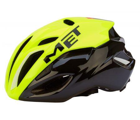 MET Rivale Safety cykelhjelm – Gul/Sort