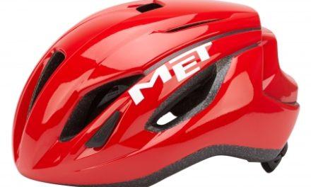 Met Strale – Cykelhjelm – Rød
