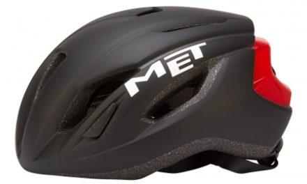 MET Strale – Cykelhjelm – Sort/Rød
