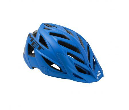 Met Terra – Cykelhjelm – Mat Blå/Sort – Str. 54-61 cm