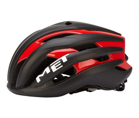 MET Trenta – Cykelhjelm – Sort/rød