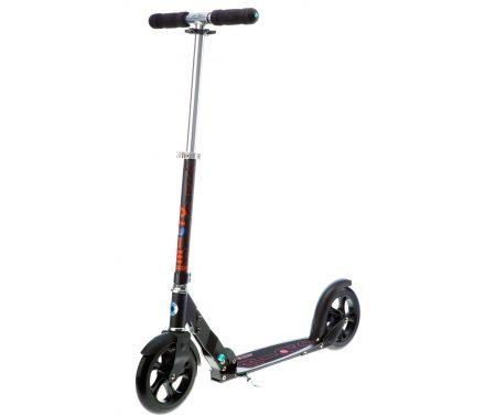 Micro Black – Løbehjul til voksne – 200mm hjul – Aluminium – Sort