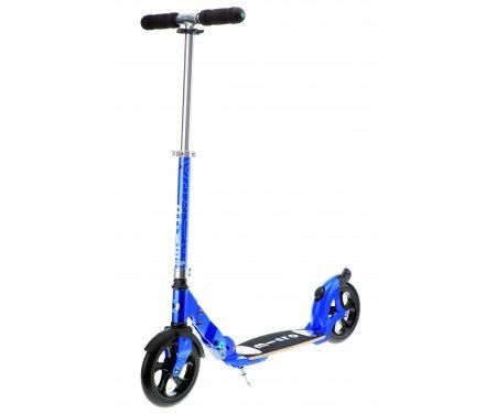 Micro Flex 200 – Løbehjul med 200mm hjul – Aluminium – Blå