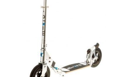 Micro Flex Air 200 – Løbehjul – Aluminium – Sølv
