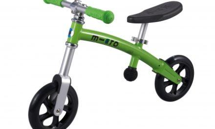 Micro G-Bike Light – Løbecykel – Green – Aluminium