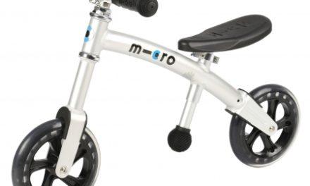 Micro G-Bike Light – Løbecykel – Silver – Aluminium