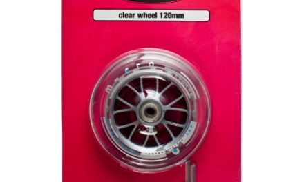 Micro – Hjul til løbehjul – 120mm – Clear Sprite – 1 stk