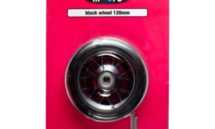 Micro – Hjul til løbehjul – 120mm – Sort Bullet – 1 stk