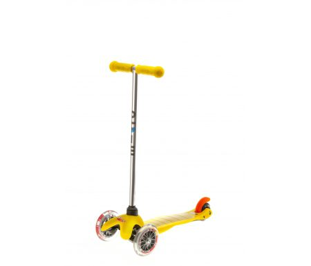 Micro Mini Classic – Løbehjul med tre hjul – Gul