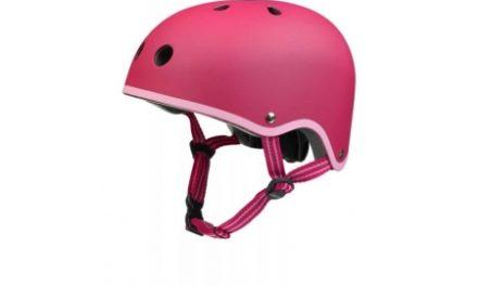 Micro Mini Cykelhjelm – Skater – Raspberry