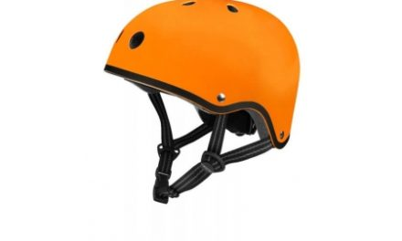 Micro Mini Cykelhjelm – Str. 53-58cm – Skater – Orange mat