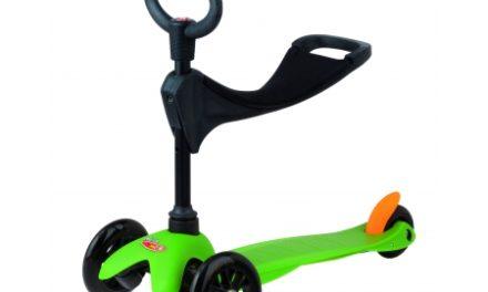 Micro Mini Sporty – Løbehjul 3 in 1 – Grøn