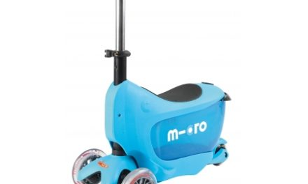 Micro Mini2Go – Løbehjul/Scooter – Blå