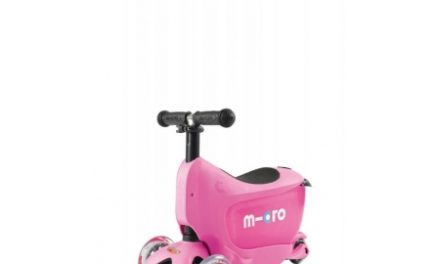 Micro Mini2Go – Løbehjul/Scooter – Pink