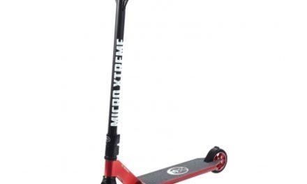 Micro MX Crossneck – Løbehjul – Aluminium – Rød/Sort