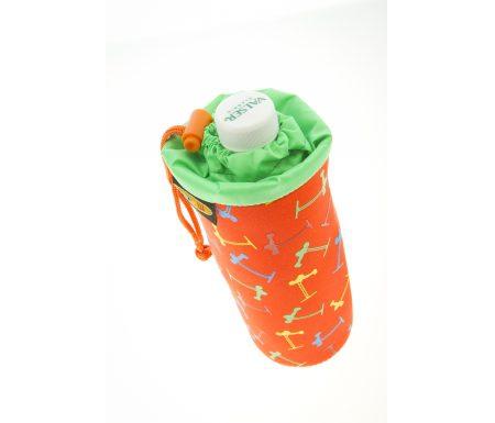 Micro – Pose med snørre til drikkedunk – Multicolor