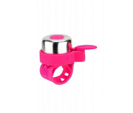 Micro – Ringeklokke – Neon Pink/Sølv