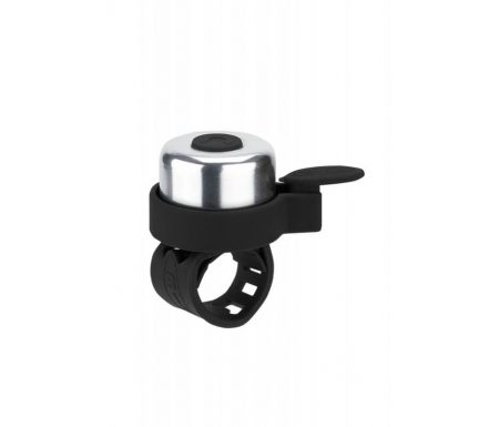 Micro – Ringeklokke – Sort/Sølv