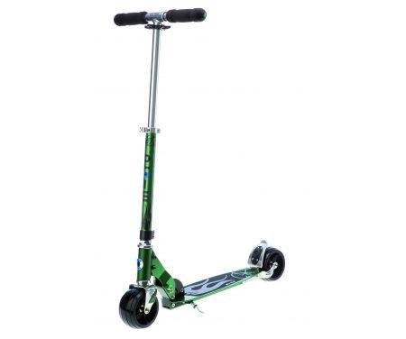 Micro Rocket – Løbehjul til voksne – Aluminium – Grøn