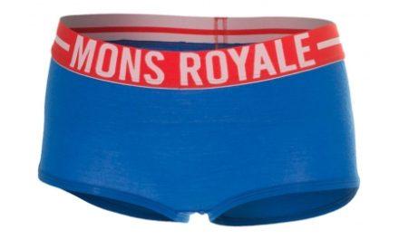 Mons Royale Boyleg Hipsters – Underbukser til dame – Blå