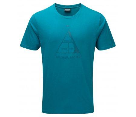 Montane Further Faster Tee – T-Shirt Mand – Blå