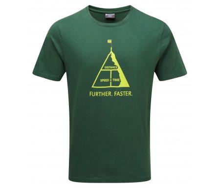 Montane Further Faster Tee – T-Shirt Mand – Grøn
