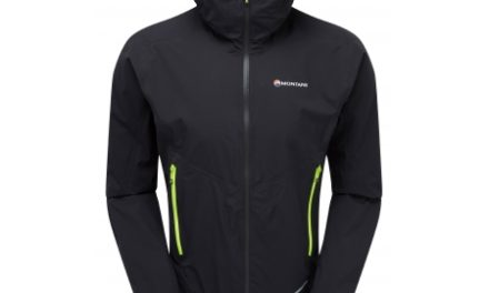 Montane Minimus Stretch Ultra Jacket – Skaljakke Mand – Sort