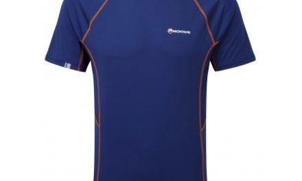 Montane Sonic T-Shirt – T-Shirt Mand – Navy