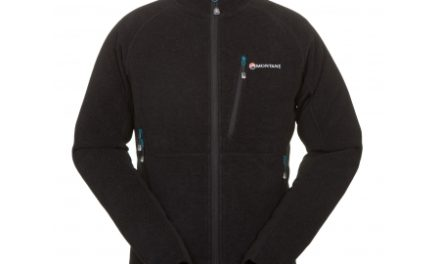 Montane Volt Jacket – Fleecejakke Mand – Sort