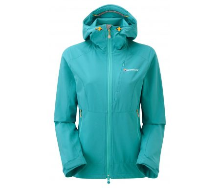 Montane Womens Dyno Stretch Jacket – Softshell Dame – Blå