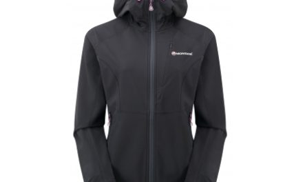 Montane Womens Dyno Stretch Jacket – Softshell Dame – Sort