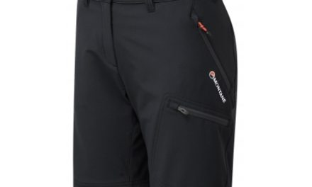 Montane Womens Dyno Stretch Shorts – Shorts Dame – Sort