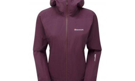Montane Womens Ultra Tour Jacket – Skaljakke Dame – Mørkerød