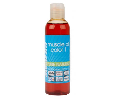 Morgan Blue Muscle oil 1 – 200 ml. -Olie med farve sommer