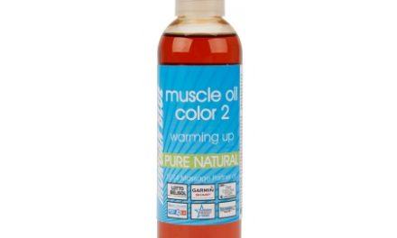 Morgan Blue Muscle oil 2 – 200 ml. – Varmeolie med farve vinter
