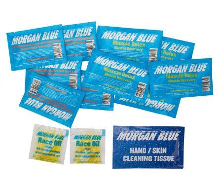 Morgan Blue Travel Kit – Olie og plejeprodukter til ferien