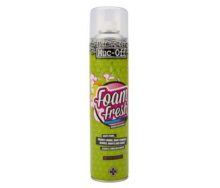 Muc-Off Foam Fresh Cleaner – Citrus duft – Neutraliserer skidt på tekstiler – 400 ml