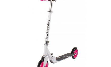 My Hood 145 – Løbehjul til børn – Hvid/Pink