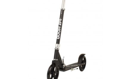 My Hood 200 – Løbehjul til børn og voksne – Sort
