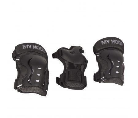My Hood beskyttelsessæt – Til skater, rulleskøjter og løbehjul